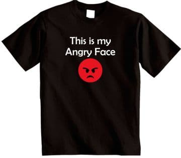 This is my Angry face novelty funny Grumpy T-shirt