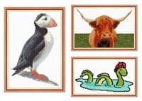 Animals - Scottish Cross Stitch Designs