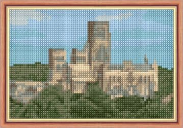 Durham Cathedral - 14 Count Cross Stitch Mini Kit