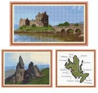 Landscapes & Castles - Scottish Cross Stitch Kits