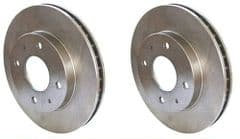 Genuine Volvo S40 V40 (96-97) Front Brake Discs (Pair)