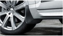 Genuine Volvo XC90 (16-) Front Mud Flaps (without accessory side mouldings)