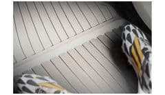 Genuine Volvo XC90 (16-) Rubber Floor Mats (Fitment: LHD Colour: Blond)