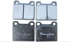 Volvo 850, S70, V70 (-00) C70 (-05) Rear Brake Pads (2WD)