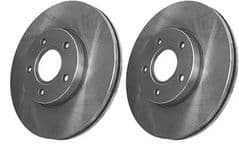 Volvo C30, C70 (06-13) (16 inch 300mm) Front Brake Discs (Pair)