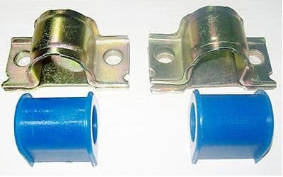 Volvo S60 (-09) S80, V70 (-07) Front Anti Roll Bar Bush Repair Kit (25mm Bar) - Parts Monster