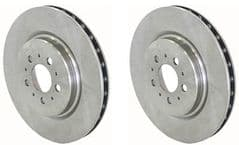 Volvo S60R, V70R (04-08) Rear Brake Discs (Pair)