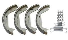 Volvo S80 II (07-)(Manual Park Brake) Rear Handbrake Shoe Kit
