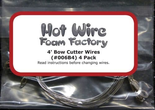 006B4 - Four 4ft Bow Cutter Wires
