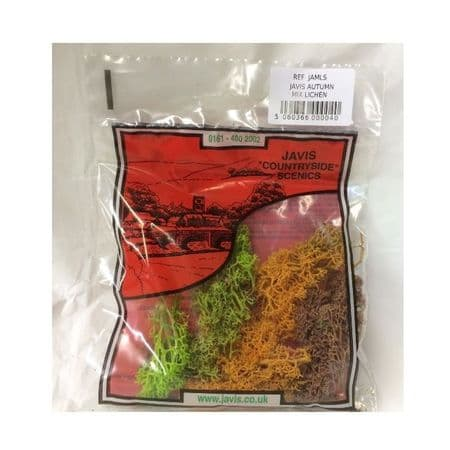 Javis Autumn Mix Lichen JAMLS Model Railway Modelling Wargame