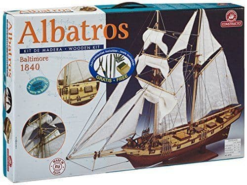 Wooden Ship Boat Kit Baltimore Clipper 1840 ALBATROS By Constructo 1:55 Scale 80702