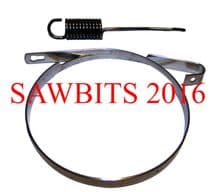 COMPATIBLE STIHL 017 MS170 018 MS180 BRAKE BAND AND SPRING