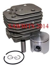 HYWAY HUSQVARNA 61 CYLINDER & PISTON ASSY 12 MONTH WARRANTY  NEW NISIC COATED