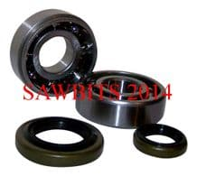 STIHL 046 MS460 CRANKSHAFT BEARINGS AND OIL SEALS NEW