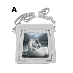 Annie Stokes Unicorn & Maiden Shoulder Bag. Available in 4 Designs