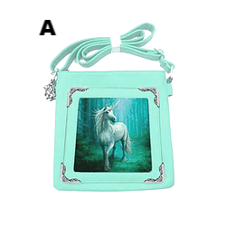 Annie Stokes Unicorn  Shoulder  Bag. Available in 4 Designs