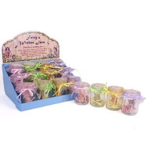 Fairy Wishes Jars in 4 colours