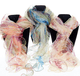Ladies Double Layer Floral Scarf Available in 3 Colours. 54150