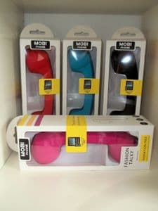 Mobi Phone Retro Handset Attachment in a Variety of Colours