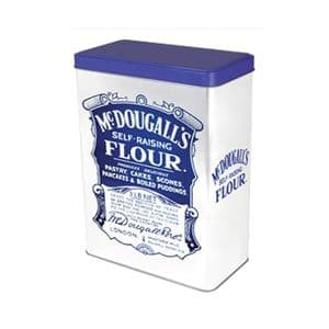 Retro McDougall's Flour Storage Tin