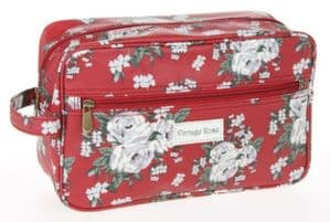 Vintage Rose Collection Canvas Wash Bag