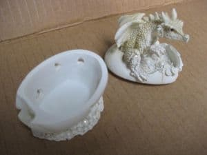 White Dragon trinket box