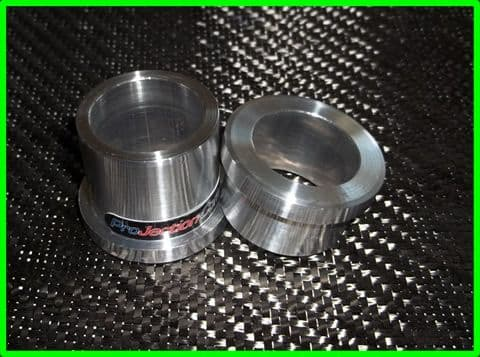 ZX6R G/J front wheel spacers for ZX7R front end