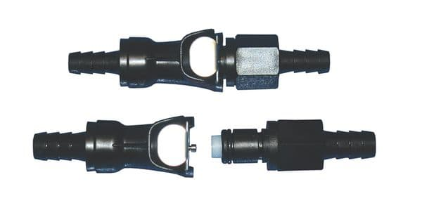 Quick release coupler, 6mm