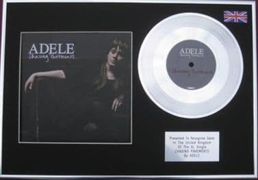 """ADELE - 7"""" Platinum Disc+Cover - CHASING PAVEMENTS"""