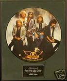 """AEROSMITH-Framed 12""""Picture Disc-DUDE(LOOKS LIKE A LADY"""