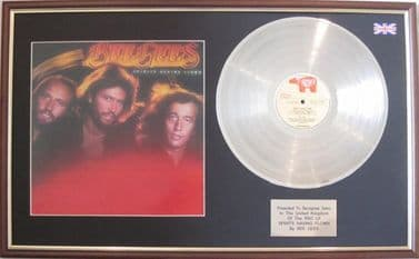 BEE GEES -Spirits have flown  LP Platinum disc & cover