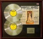 DOROTHY SQUIRES-Dble PlatinumDisc/cover-LONDON PALADIUM