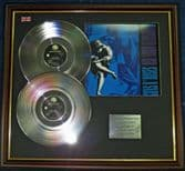 Guns N' Roses - Double Platinum Disc + Cover - Use Your Illusion ll