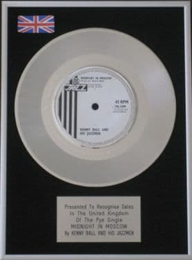 KENNY BALL -Platinum Disc - MIDNIGHT IN MOSCOW..