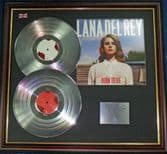 Lana Del Rey - Double Platinum Disc + Cover - Born to Die