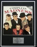 MADNESS - Framed LP Cover - COMPLETE MADNESS