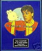 PAUL McCARTNEY -Rupert the bear  framed Picture Disc