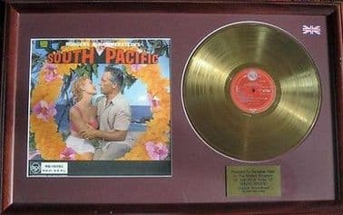 SOUTH PACIFIC - 24 Carat  Gold Disc LP with cover - THE ORIGINAL SOUNDTRACK