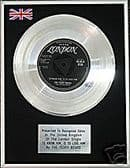 """TEDDY BEARS 7"""" Platinum Disc TO KNOW HIM IS TO LOVE HIM"""