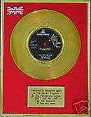 """THE BEATLES  7""""  24 Carat Gold Disc  -  CANT BUY ME LOVE"""