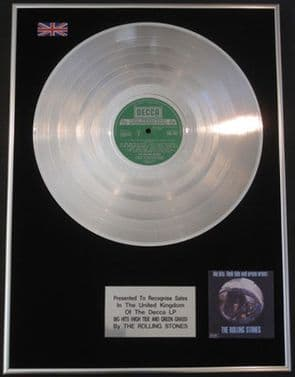 THE ROLLING STONES - Platinum Disc LP  - BIG HITS (HIGH TIDE AND GREEN GRASS)