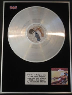 THE ROLLING STONES - Platinum Disc LP  - MADE IN THE SHADE