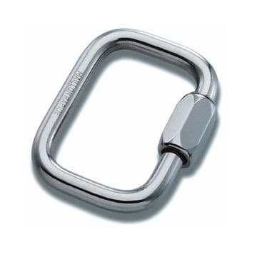 6mm Square Maillon Rapide (Attachment of Reserve to Harness) Priced Each