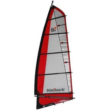BloKart Sail Complete 4.0m Red