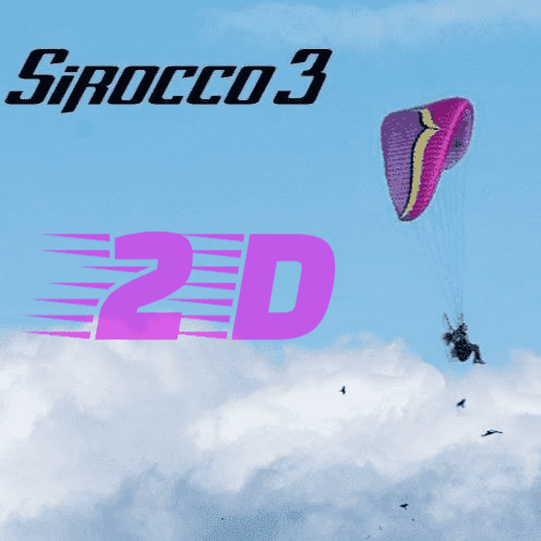 Ozone Sirocco 3 - NEW - Available To Order Now (19-03-2021)