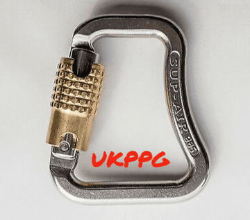 SUP-AIR STAINLESS STEEL AUTOLOCK CARABINE PARAFLY Harness Connection (Priced Each)