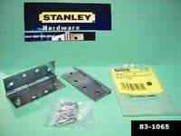 "STANLEY Butt hinges 4"" HEAVY DUTY. 2ack with Screws. Steel SC 83-1065"
