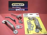 STANLEY Gate thumb/suffolk latch. GALVANIZED kit with SCREWS. 31-5680