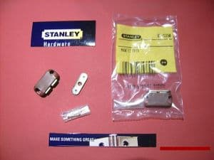 STANLEY magnetic catch BROWN 4 kg pull. 2 pack with screws. 83-5330
