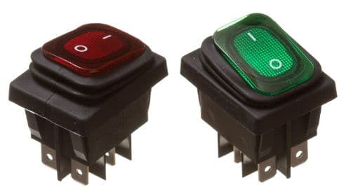 Rocker Switch water and dust proof